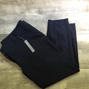 NWT Navy LOFT PLUS Marisa skinny pants